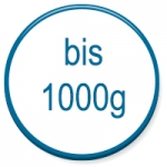 up to 1000g