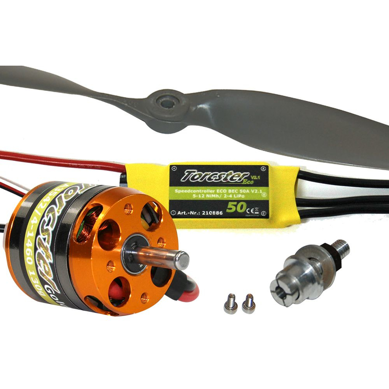 Torcster Antriebsset DogFighter Ultra 4s Multiplex MPX Brushless Flugzeug