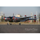 Freewing Flightline P-38L Lightning Pacific Silver EPO...