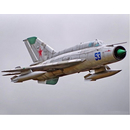 Freewing MiG-21 EPO 800mm Deluxe Edition silber PNP